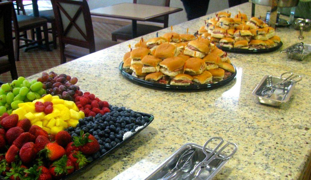 Catering for Your Open House